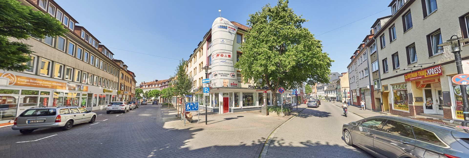 Außenansicht Kühn Sicherheit GmbH Haus für Sicherheit