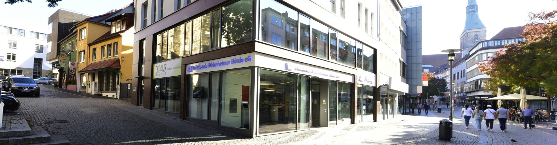 Außenansicht Volksbank Hildesheimer Börde Filiale Almsstraße